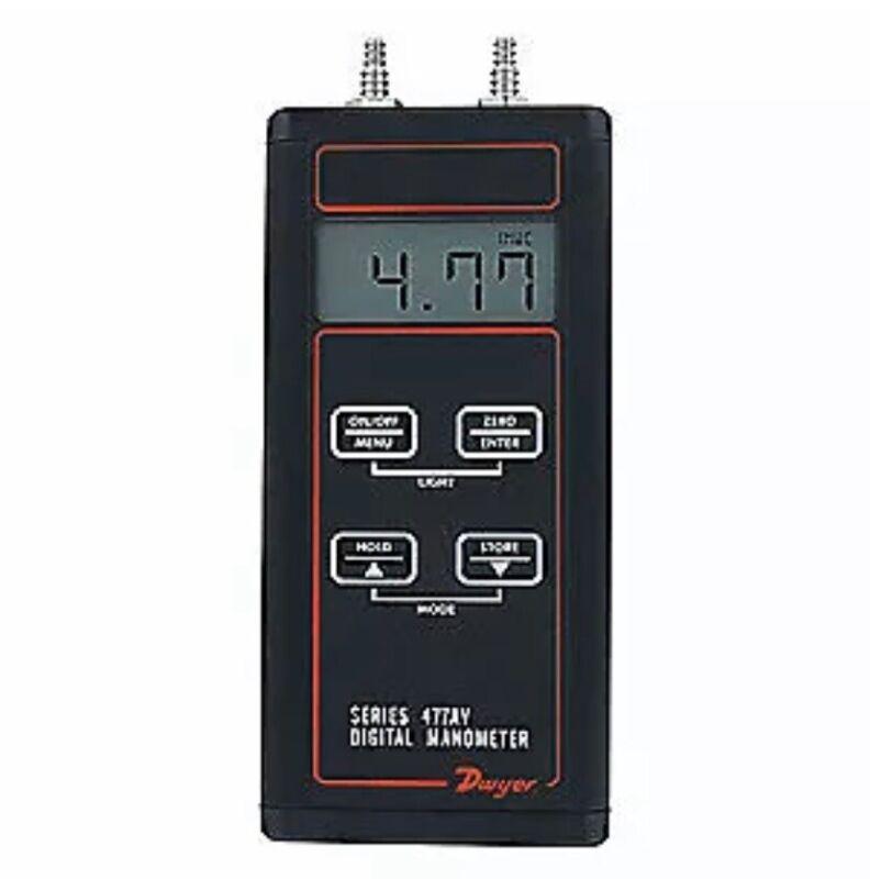 DWYER Manometer Kit,Digital,20.00 psi, 477AV-5