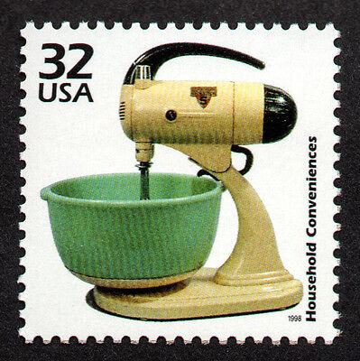 UNITED STATES, SCOTT # 3185-G, MIXER, HOUSEHOLD CONVENIENCES, KITCHEN TOOLS,