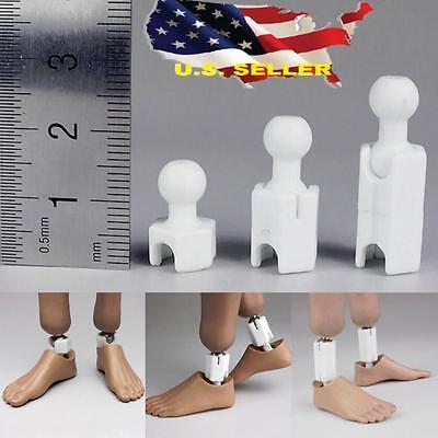 1/6 Extra Long Feet Leg Peg Joint Adapter set for hot toys Phicen Ganghood ❶USA❶