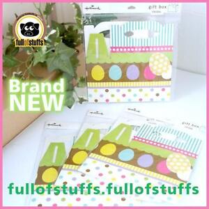 Hallmark Colorful Easter Egg Basket Gift Box 4 for $5