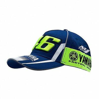 2017 OFFICIAL Moto GP VR46 MENS Valentino Rossi Team Yamaha 46 Cap Hat – NEW