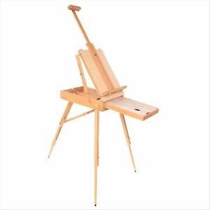 Wooden Artist Art Canvas Holder Sketch Box Draw Paint Easel Set Coburg Moreland Area Preview