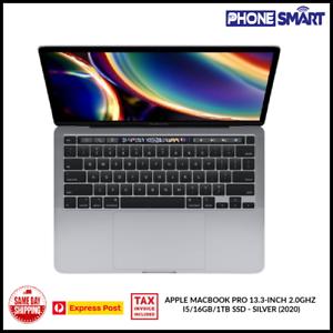 Brand New Apple MacBook Pro 13.3in 2.0GHz i5/16GB/1TB SSD 200 Silver