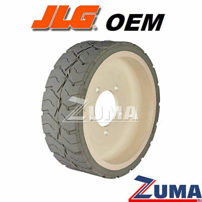 Jlg 4860182 New Scissor Lift Wheeltire - Non-marking 12.5 X 4.25  Jlg Oem