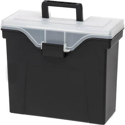Iris Organizer Lid Slim Portable File Box