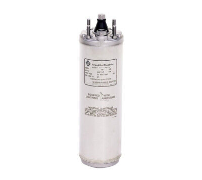 Franklin 2243019204s 4 Submersible Water Well Motor 2hp 230v 1ph 3 Wire