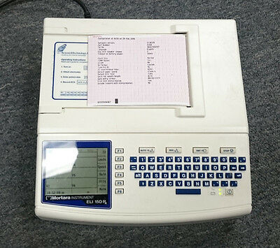 Mortara ELI150rx ECG/EKG Machine w/Interpretation... Short Term (Ekg Machine)