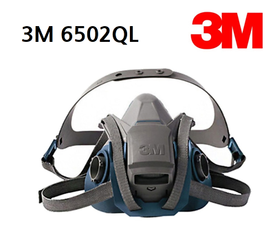 3M 6502QL Quick Latch with 60923 P100 Filter Fedex//DHL NO CHINESE COUNTERFEIT