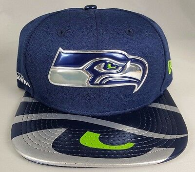 Seattle Seahawks NFL 17 Draft New Era 9Fifty Snapback Hat Cap