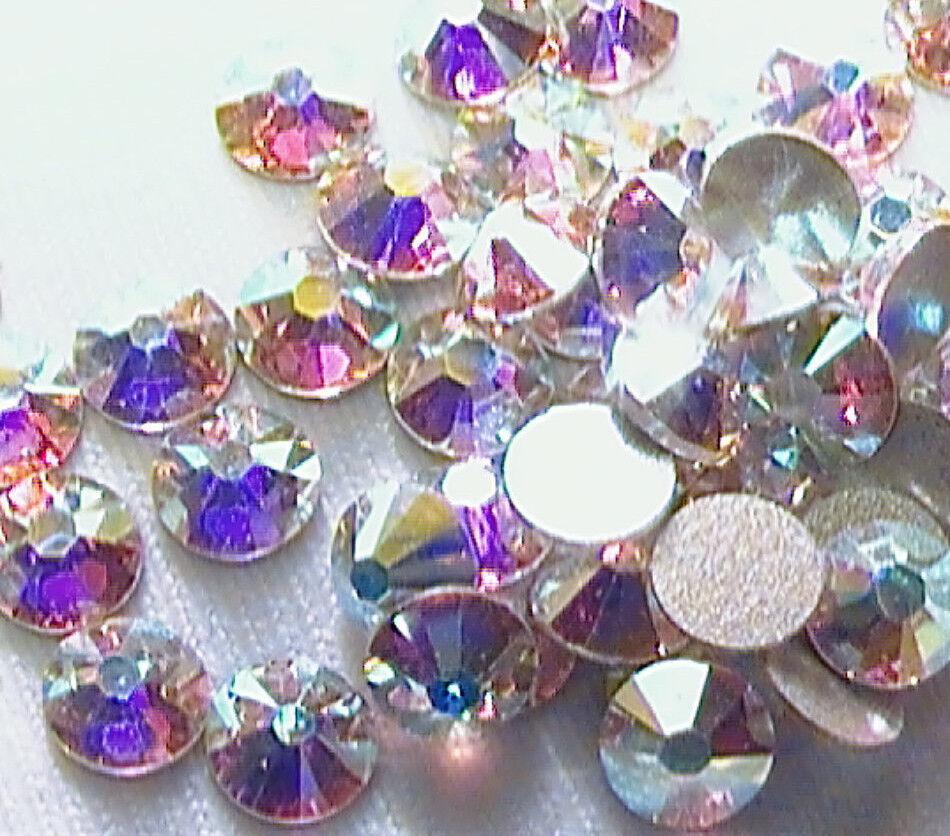 GORGEOUS Swarovski Rhinestones for Nail Art - Crystal AB - M