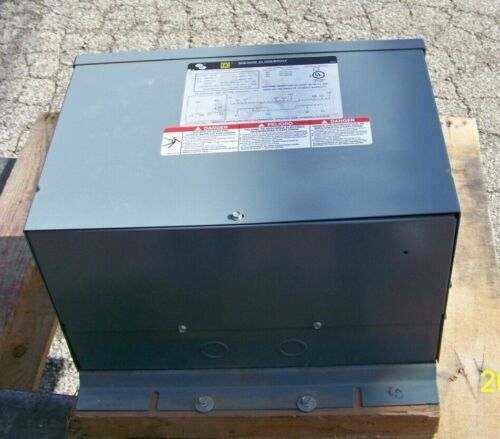 6 KVA 480 to 208Y120 with taps  NEMA 3R 6T2F Square D transformer