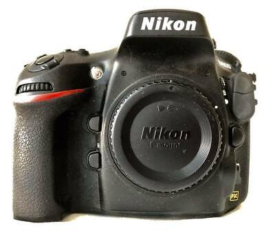 Nikon D D800 36.3MP Digital SLR Camera - Black (Body Only), 3223 shots.