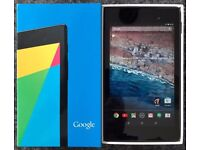 Google Nexus 7 32GB WiFi Tablet 2nd Generation (7 inch) screen. Perfect Condition