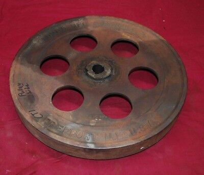 1 12 Hp Stover Ct 1 Pulley Side Flywheel Gas Engine Motor 2