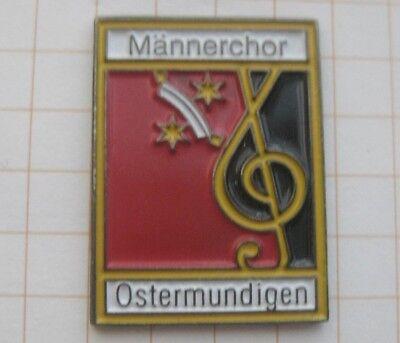MÄNNERCHOR MUNDINGEN / SCHWEIZ ................ Musik-Pin (178g)