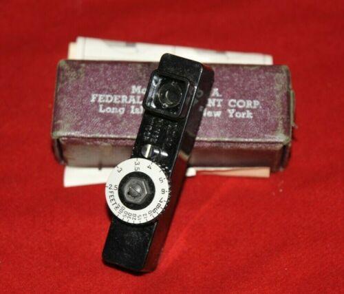 ^Ideal Range Finder Camera Rangefinder w/Original Box & Instructions Leica Canon