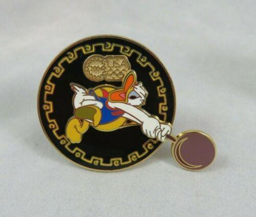 Disney Disneyland Pin - USA Olympic Logo 2004 - Hammer Throw - Donald Duck