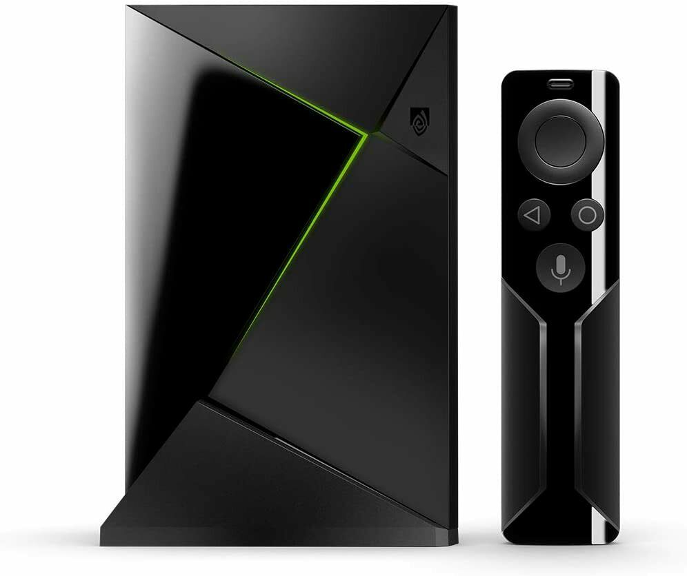 NEW NVIDIA SHIELD 4K HDR Android TV + Remote + Power Adapter
