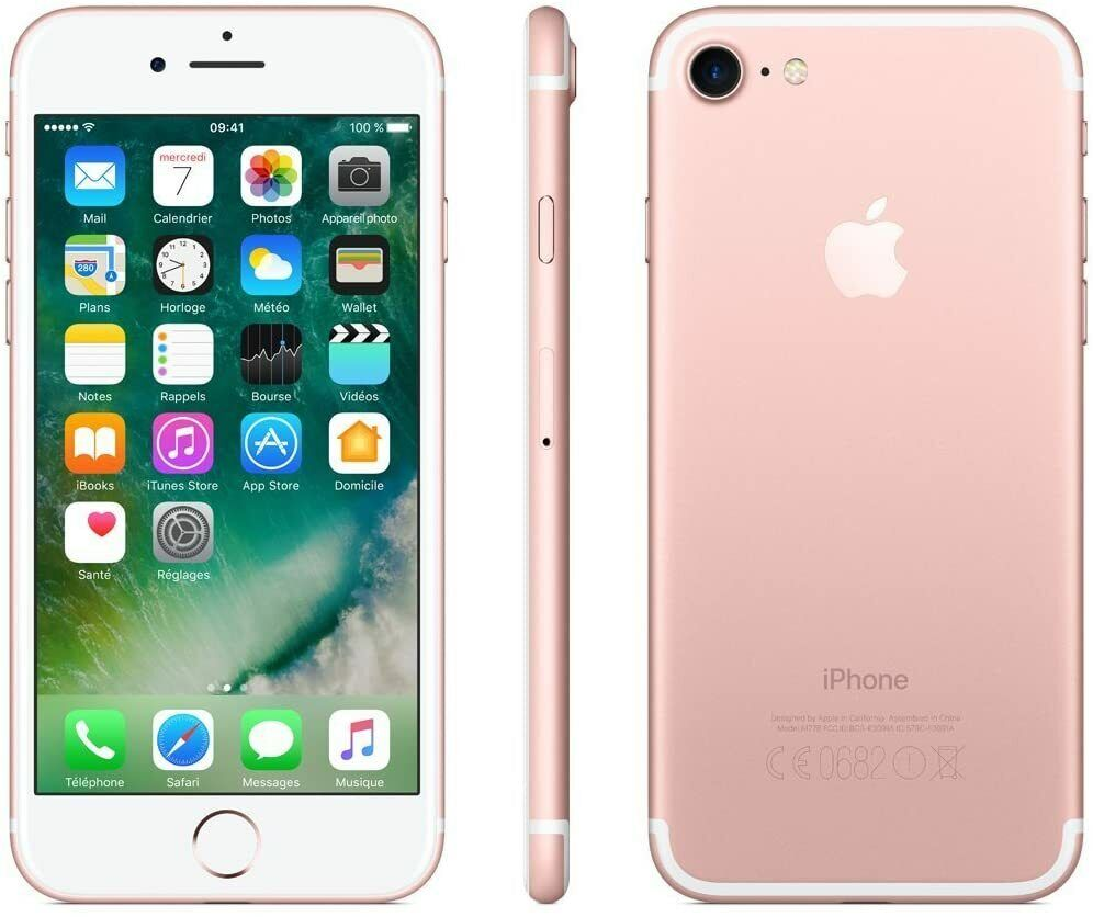 Apple iPhone 7 128GB Rosegold Smartphone Handy ohne Simlock TOP Zustand