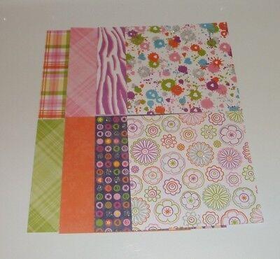 ck,  Floral, Paint Splat, Polka Dot, Safari, Stripe, Girly (Polka Dot Cardstock)
