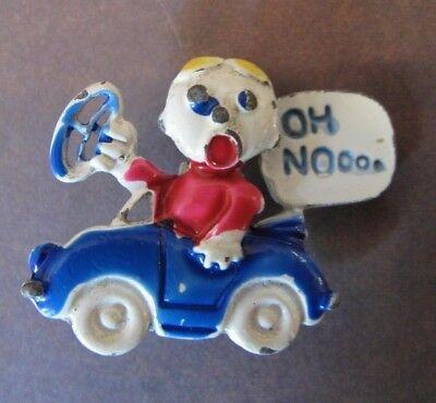 NoSTALgic 1970's Saturday Night Live SNL character MR. BILL  Oh NOooo Brooch Pin](Snl Character Costumes)