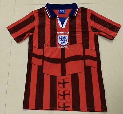 England Retro away jersey 1998 football shirt BECKHAM #7