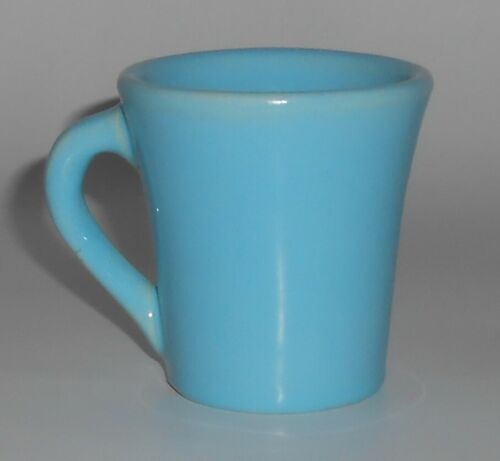 Catalina Island Pottery Turquoise Handled Wine Cup