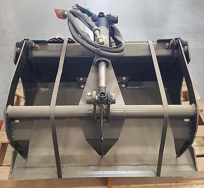 Bradco 36 Grapple Bucket For Skid Steers