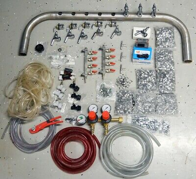 Kegerator Keezer Parts Including Perlick Tap Dispenser Beer Tower Kit Diy