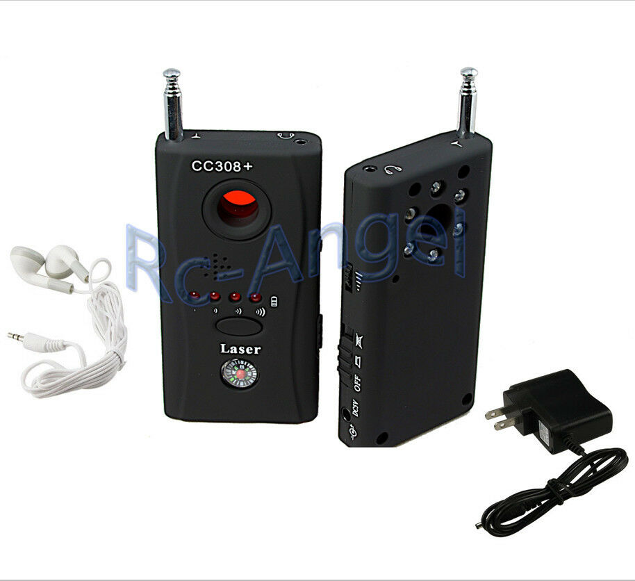 Full Range Anti-Spy Bug Wireless Camera Cell Phone GPS RF Signal Detector Finder