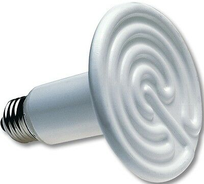 100w 110v Ceramic Heat Emitter Brooder Infrared Lamp Bulb Reptile Pet Coop Grow