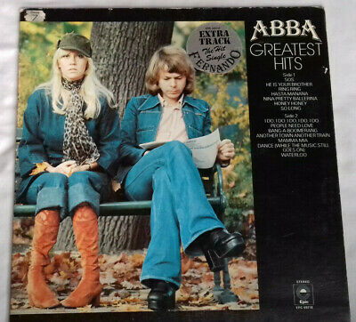"Abba - Greatest Hits - 1976 12"" vinyl album"