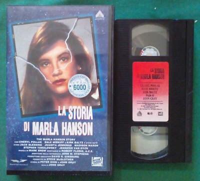 VHS FILM Ita Thriller LA STORIA DI MARLA HANSON cheryl pollak nolo no dvd(VH85) comprar usado  Enviando para Brazil