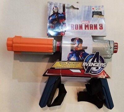 Marvel Iron Man 3 Patriot Avengers Weapon Shoulder Chain Gun Costume Toy NEW