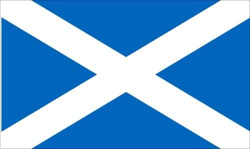 SCOTLAND ST ANDREW CROSS LIGHT BLUE 3 X 2 FEET FLAG Scottish