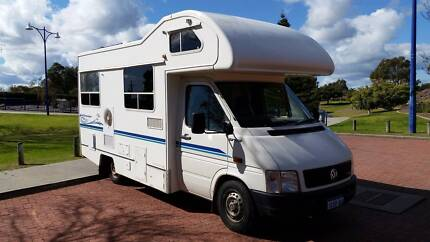 VW LT35 Motorhome Winnabago style 4 berth van 2004 Safety Bay Rockingham Area Preview