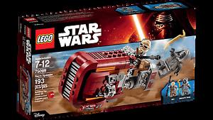 Lego 75099: Star Wars Rey's Speeder