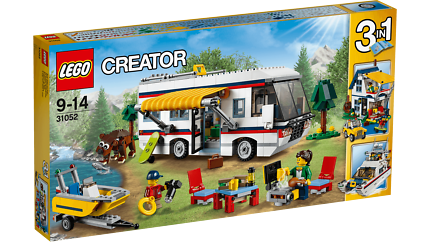 LEGO Creator - 31052 Vacation Getaways - Brand New in Sealed Box