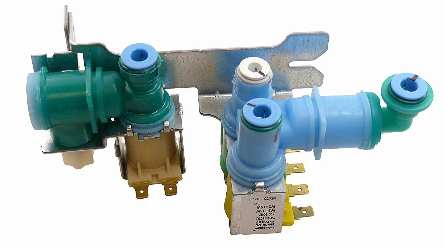 242252702 TRIPLE WATER VALVE REPLACEMENT FOR FRIGIDAIRE ELEC