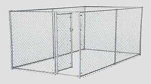 Chain Link Dog Kennels Ebay
