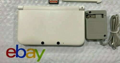 Nintendo 3DS XL game console  WHITE 64gb please SEE DETAILS - USA SELLER