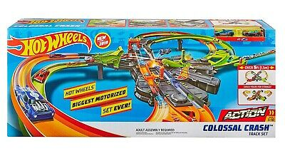 Hot Wheels Colossal Crash Track Set Hot Toy 2019 in Stock