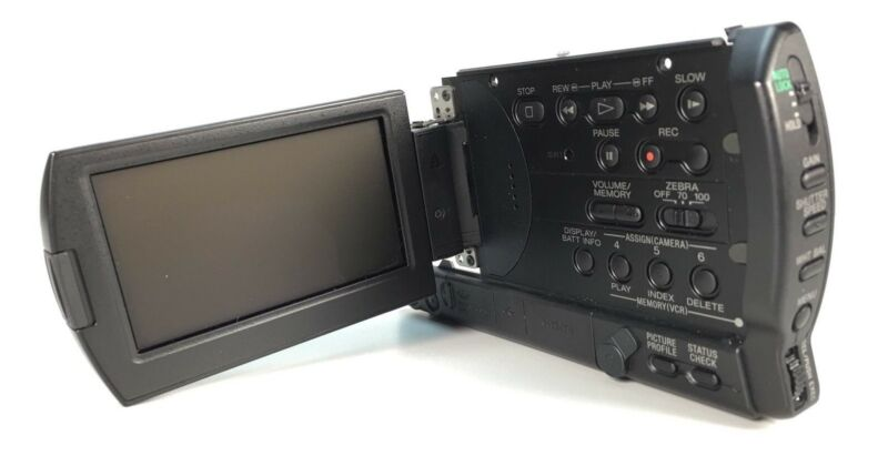 Sony HVR-V1u V1u Part Side Cabinet With LCD Works Used