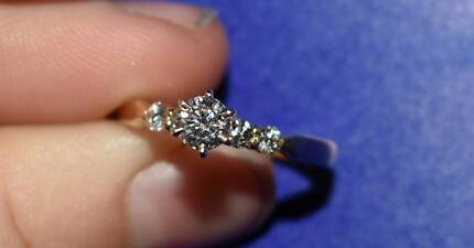 Hearts On Fire Diamond Engagement and wedding rings