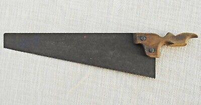Fuchsschwanz, Säge, Deko, sehr alt L. ca. 44 cm lang, Griff nicht mehr komplett