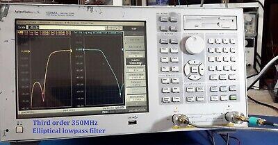 Agilent Keysight E5062a Ena-l Vector Network Analyzer 300khz-3ghz Option 016250