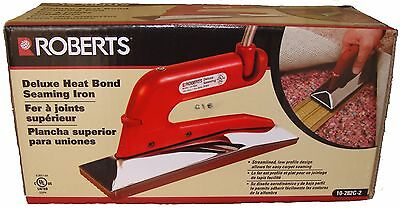 Roberts 10-282-g Deluxe Heat Iron Seaming Iron