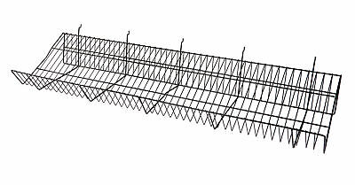48 X 12 X 6 Inch White Downslope Shelf - For Slatwall Or Pegboard