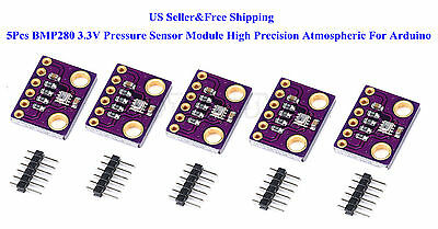 5pcs Bmp280 3.3v Pressure Sensor Module High Precision Atmospheric Arduino Us