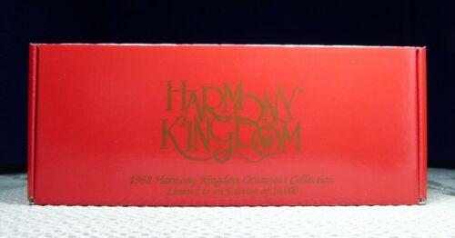 HARMONY KINGDOM Holiday Ornament Set 4685/10K TRINKET BOX FIGURINES MSRP $100